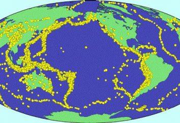 Aktywnych sejsmicznie regionów Rosji, gdzie to możliwe trzęsienie ziemi