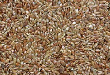 Jak wziąć nasiona lnu do utraty wagi?