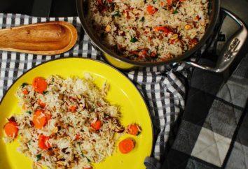 Wie kochen Risotto mit Pute und Gemüse