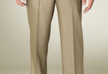 ¿Cuál debe ser la longitud de los pantalones de los hombres? ¿Cuánto tiempo debe ser pantalones ajustados para los hombres?
