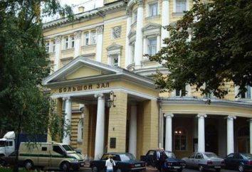 Moscow Escola Superior de Música. Tchaikovsky (Inverno)