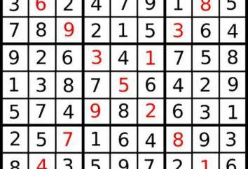 Knifflige Rätsel. diagonal Sudoku