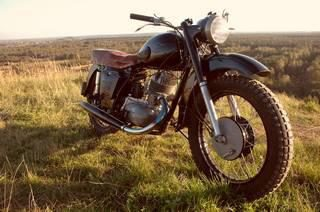 """""""IZH Planeta-2"""" – ideał radzieckiego motocykla"""