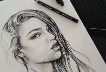 Jak narysować twarz dziewczynki: porady dla młodych artystów