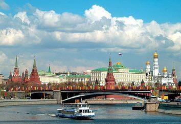 Moskwa, wodnego: opinie i zdjęcia