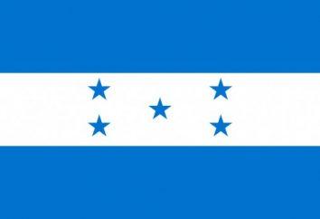 Bandeira de Honduras: tipo, significado, história