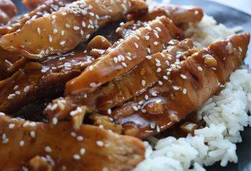 """pollo delicioso y fragante en salsa """"teriyaki"""": Receta"""