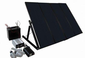 Bateria słoneczna dla turystów i