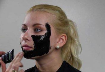 Jak zrobić czarną maskę czarne kropki?