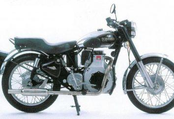 Selbstgemachtes Diesel-Motorrad. Diesel-Motorrad mit eigenen Händen