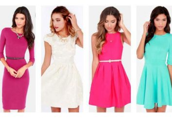 Wiosenne sukienki: opisy i recenzje