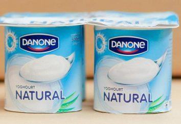 "Danone ( «Danone"") – Jogurt naturalny: kalorii, ładne opinie Funkcje"
