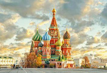 Où aller à Moscou? Les lieux les plus célèbres et les plus intéressants à Moscou