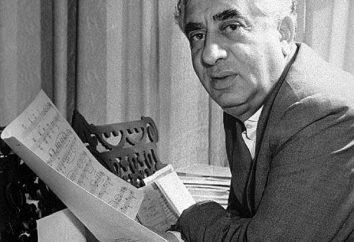 Aram Ilich Hachaturyan: biografia kompozytora, zwłaszcza twórcze i ciekawe fakty