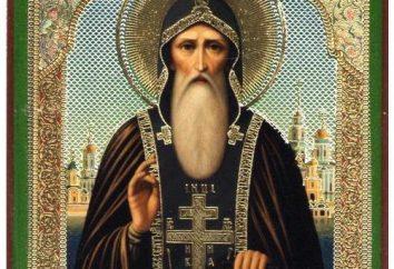 Nilus Stolobensky: la vita, Akathistos, la preghiera, icona