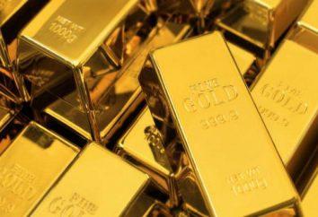 Jaka jest waga złota? Precious metalowe pręty
