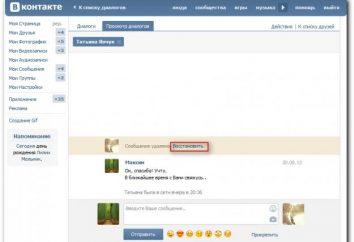 """Para saber como visualizar os contatos excluídos em """"Contatos"""" e retornar mensagens"""