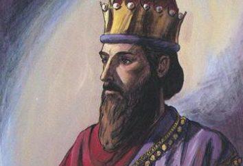 Rei Salomão: biografia, a chegada ao poder, o simbolismo. Solomon estrela