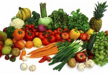 Gemüse und Früchte im Frühjahr