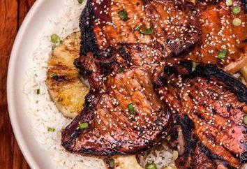 Carne di maiale in salsa teriyaki: la cottura segreti
