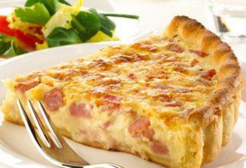 Quiche de pollo y setas: Francés receta de la torta. Cómo cocinar quiche con pollo y setas?