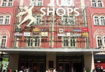 """Centrum handlowe """"Palladium"""" w Pradze: adres, godziny otwarcia, zdjęcia i opinie"""