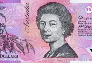 valuta australiana. AUD – valuta di qualsiasi paese diverso da quello in Australia? La storia e l'aspetto