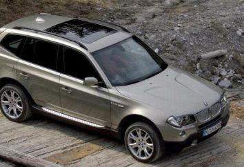 BMW X3: Dane techniczne, opis