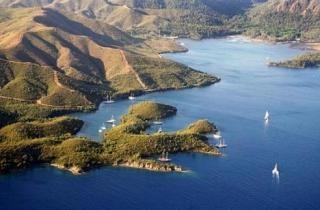 Ilha de Cleópatra, Turquia – o resort dos governantes do mundo