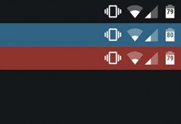 ¿Cuál es la barra de estado de Android?
