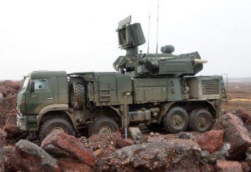 "«Shell-C 1"" . Flugabwehrraketen und Geschützsystem (ZRPK) «shell-C1"""