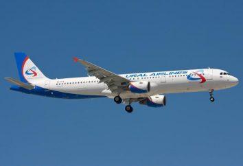 Compagnie aérienne « Ural Airlines » – la flotte d'avions