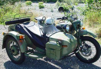 """All-Wheel Drive moto. Motociclo drive """"Ural"""" quattro ruote"""