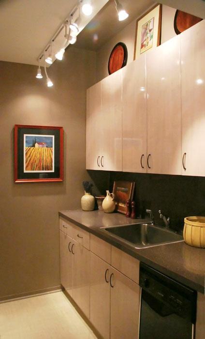 Küchen Chruschtschow kann das Zimmer gemütlich machen