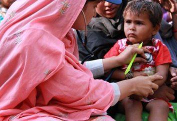 endémies: exemples de détermination. La plupart des terribles maladies
