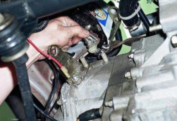 VAZ-2110: Wymiana kabla sprzęgło siebie