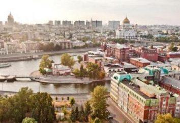 W Moskwie: podziałów administracyjnych i powiatów