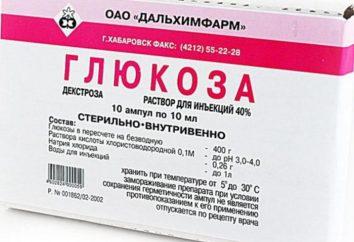 Glucosio: applicazione. zollette di zucchero: recensioni, prezzi