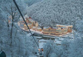 Sochi Attraktionen. Krasnaja Poljana, Lage, Bewertungen, Fotos