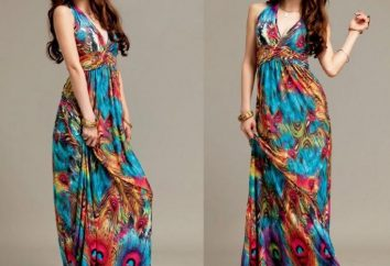 Como a costurar um vestido para o chão com as mãos. modelo simples e eficaz