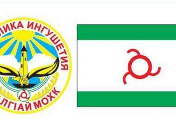 bandiera cappotto e Inguscezia