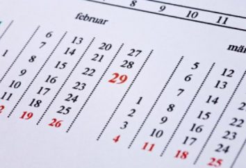 Kalendarz gregoriański różni się od Julian. Julian kalendarz w Rosji