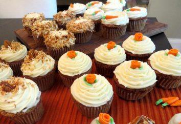 Cupcakes (przepis): deser z marchwi