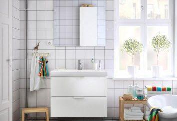 Kąpiel w skandynawskim stylu: zdjęcia pomysły