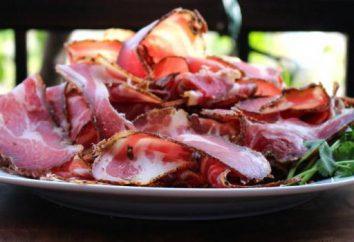 Viande séchée: la recette à la maison