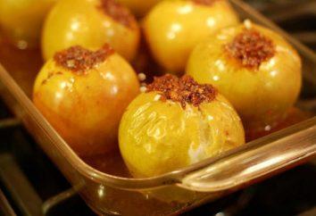 Comment faire des pommes cuites au four avec du miel dans le four?