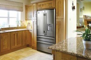 Como construir o interior da geladeira? Dobradiças para built-in geladeira