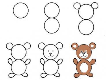 Disegno Per Minori Di 4 Anni Modelli Schizzi Workshop