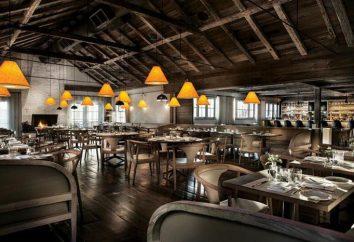 design tecnológico do restaurante: a descrição, normas e recomendações