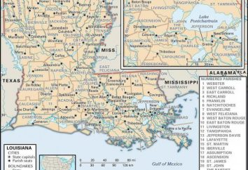 Louisiane: Une brève histoire et la description